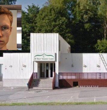 Zwaarbewapende Noor pleegt aanslag op moskee in Oslo