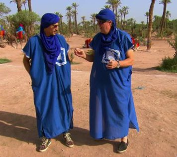 Celebrity City Trip op RTL 5 met Boef in Marrakesh