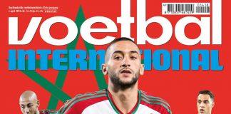 Hollandse leeuwen van Marokko op cover Voetbal International
