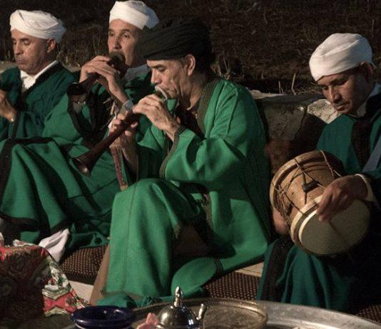 Concert van Master Musicians of Jajouka geleid door Bachir Attar
