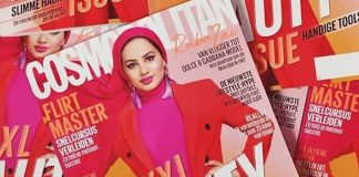 Ruba Zai gezicht van moslima-lijn Dolce & Gabbana